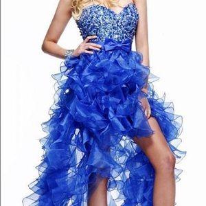 Sherri Hill Ruffled Tiered Prom Dress - 2415